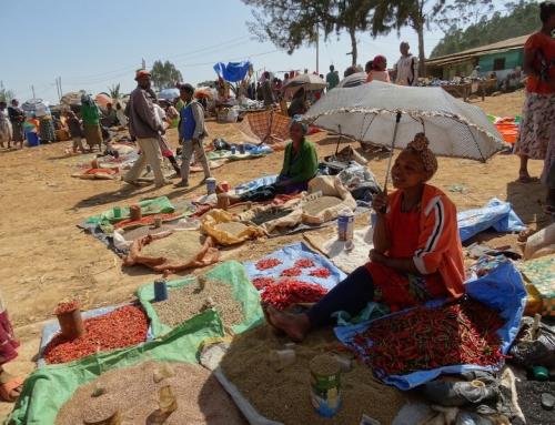 Marktdagen in de Omo Vallei