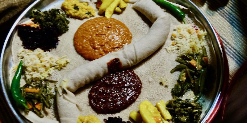 eten in Ethiopië