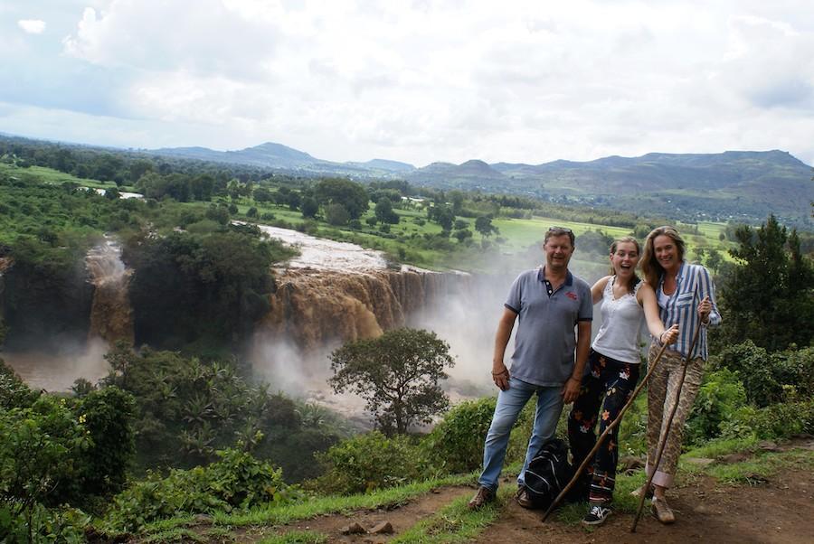 Blue Nile falls Bahir Dar