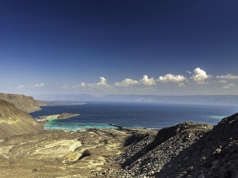 Djibouti strand