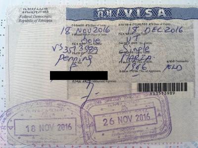 Visum aanvragen Ethiopie