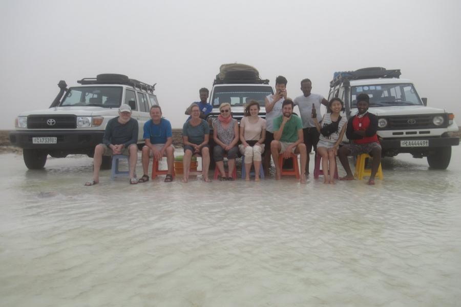 Groepsreis Danakil