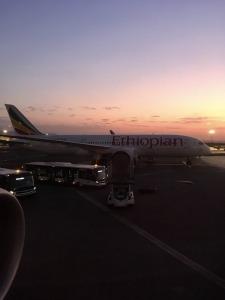 Vlucht Ethiopië